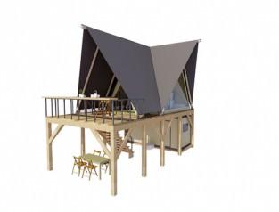 Палатка «ПРИЗМА» 4х6.2