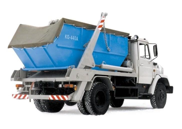 Тент полог на бункер для мусорного контейнера 8 куб.м. и 20 тон