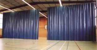 Штора завеса из ткани ПВХ Китай 650 г/м2